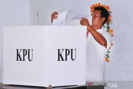 KPU Bangka Tengah tunggu surat edaran terkait lanjutan tahapan pilkada