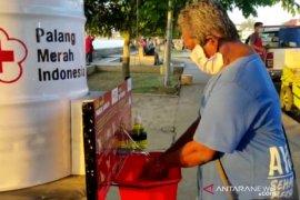 PMI Berau Siapkan Sarana Cuci Tangan Komunal
