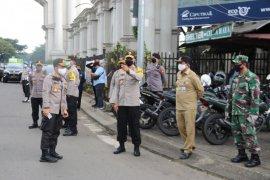 Terkait PSBB, Polresta Tangerang gelar operasi simpatik pengendara tanpa masker