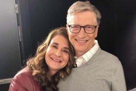 Pendiri yayasan aman terbesar di dunia Bill Gates dan Melinda resmi bercerai