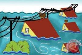 Ribuan  rumah warga Melawi terendam banjir