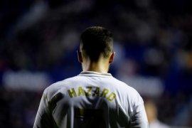 Eden Hazard pulih dari cedera pergelangan kaki