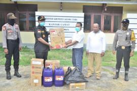 Pemkab Kayong Utara serahkan bantuan disinfektan ke Kepulauan Karimata