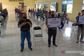 Seratusan sopir di Cianjur dapat insentif dari Korlantas Polri