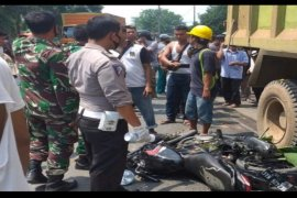Seorang pelajar tewas dilindas truk