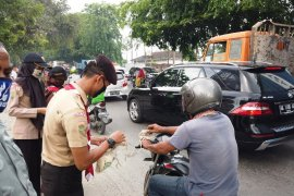 Warga Medan antusias sambut gerakan masker kain Kementan
