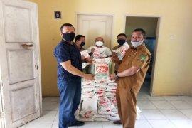 Apdesi Langkat berikan bantuan ke PWI sambut Ramadhan dan antisipasi COVID-19