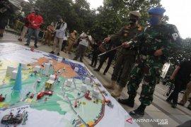 Polisi kerahkan 4.497 personel untuk mengawal PSBB Bandung Raya
