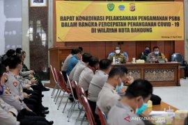 PSBB di Bandung mulai diberlakukan tengah malam ini