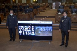 DPRD Badung sidang paripurna lewat teleconference