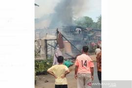 Empat rumah terbakar di Mentebah Kapuas Hulu