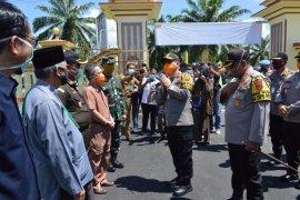 Kapolda Jambi pantau kesiapan tim Gugus Tugas COVID-19 Batanghari