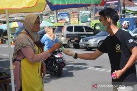 Juventus Club Indonesia Chapter Bangka bagikan hand sanitizer cegah COVID-19