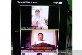 Paripurna DPRD Bengkulu digelar virtual