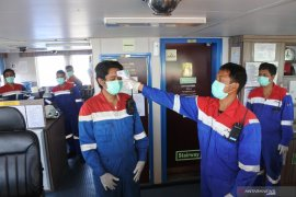 Kru Kapal Tanker Isolasi Mandiri