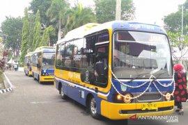 Operasional bus kapsul  ikon transportasi Kota Jambi, Trans Koja  dihentikan sementara