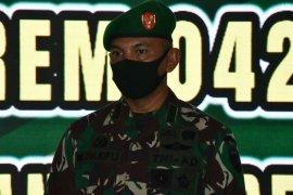 Kolonel Kav M. Zulkifli resmi jabat Danrem 042/Gapu