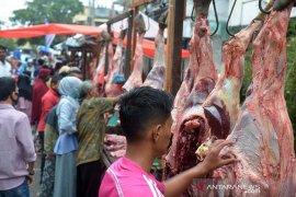 Daya beli daging meugang masyarakat Aceh menurun