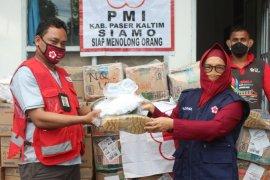 PMI Paser dapat bantuan logistik penanganan COVID-19