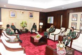 Danrem Cahyo Kunjungi Gubernur Untuk Silaturahmi dan Minta Arahan