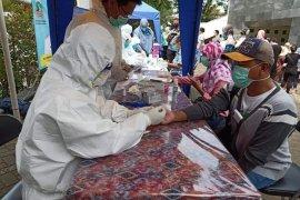 Hasil screening COVID-19 lima daerah di Banten, 11 orang positif Corona