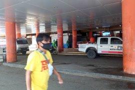 Sejumlah tempat dagang di Pasar Raya Padang tutup hari kedua  PSBB