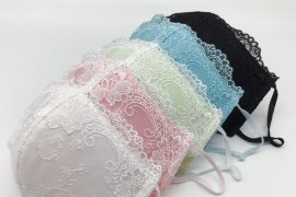 Masker berbentuk bra diproduksi di Jepang
