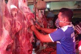 Harga daging sapi normal Rp120 ribu per kilogram di Bengkulu