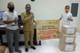Medco E&P Malaka salurkan APD untuk sejumlah rumah sakit di Aceh Timur