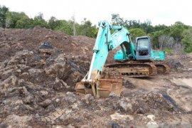 Satgas PUPK Kejati Kaltim amankan 2 unit eksavator tambang ilegal