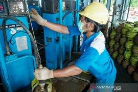 Pertamina memastikan LPG 3 kg di Kalimantan Selatan aman
