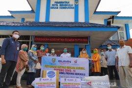 Satgas BUMN di Bengkulu salurkan ribuan APD untuk tenaga medis