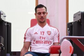 Cedric Soares pilih bersabar  debutnya di Arsenal tertunda COVID-19