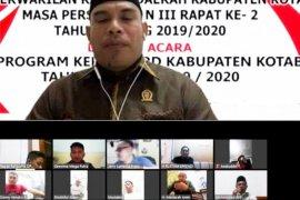 DPRD Kotabaru sidang paripurna secara virtual