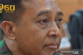 Perawat RSPAD buat  Kasad Jenderal TNI Andika Perkasa menangis
