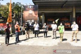 Anggota DPRD Bali kunjungi posko penanganan COVID-19 di Denpasar
