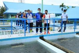 Wali Kota Aminullah tinjau pengolahan air PDAM Tirta Daroy di Lambaro