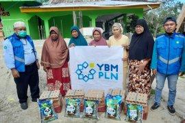 YBM PLN UIP Maluku salurkan bantuan ramadhan 1441 Hijriah