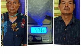 Sabu di celana dalam hendak diedarkan di Kecamatan Secanggang Langkat