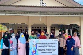 Tanjung Field rangkul mitra binaan produksi 1.000 masker melalui program CSR