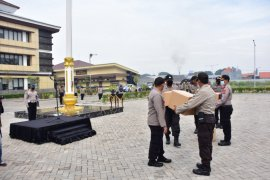 3.600 paket bahan pokok disalurkan Polresta Sidoarjo jelang PSBB