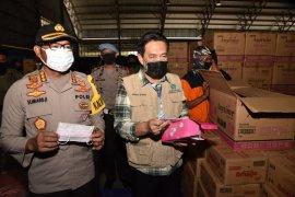 Gugus tugas COVID-19 Sidoarjo bagikan 1,5 juta masker