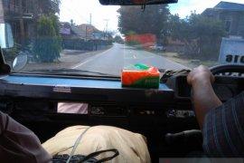Lalulintas angkutan umum hulu sungai lengang