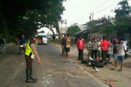 Dua motor tabrakan di Simalungun, satu pengendara tewas