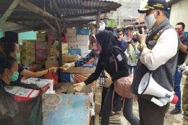 Wali Kota : tanpa masker,  pedagang jangan berjualan