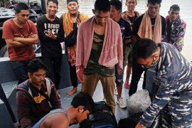 F1QR Lanal Tanjung Balai Asahan amankan 20 TKI ilegal dari Malaysia