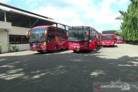 Larangan mudik, Bus AKAP di Medan berhenti beroperasi