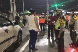 10 ribu polisi diterjunkan sekat pemudik di perbatasan Jateng