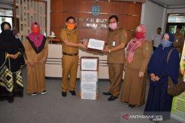 Wabup HSS terima donasi 1.500 masker dari SMKN 2 Kandangan