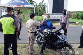 Polisi di Bangka Barat perketat pengawasan jalur mudik